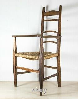 19th C. Antique Arts and Craft Chair Superb Design and Style