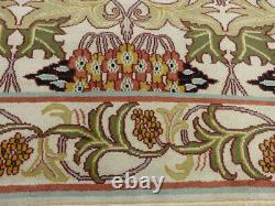 8'x10' New Hand knotted wool arts & Crafts William Morris Oriental area rug