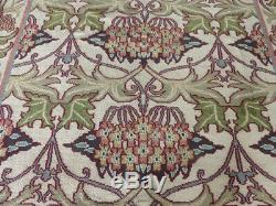 8'x10' New Hand knotted wool arts and Crafts William Morris Oriental area rug