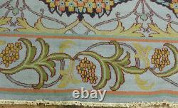 9'x12' New Hand knotted wool arts & Crafts William Morris Oriental area rug