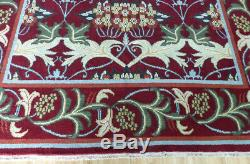 9'x12' New Hand knotted wool arts and Crafts William Morris Oriental area rug