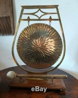 A Fab William Tonks Dinner Gong Arts And Crafts Japonist Aesthetic Period