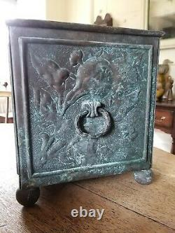 A Wonderful Arts And Crafts Repousse Planter Aesthetic Movement