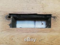 ARTS AND CRAFTS EDWARDIAN OAK FRONT DOOR W 835mm H 2037mm ref DE0773