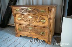 Antike Kommode William Morris Arts and Crafts Jugendstil Liberty