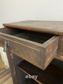 Antique 1920s Arts and Crafts/ Mission/ Liberty Style Bookcase