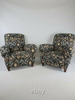 Antique 20th Century Art Deco Restored French Club Chairs Arts And Crafts x 1