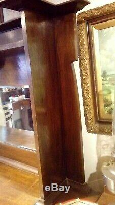 Antique Arts And Crafts Large Solid Oak Sideboard