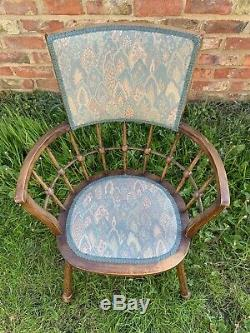 Antique Arts And Crafts Style Windsor Chair