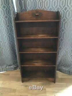 Antique Arts and Crafts Beautiful Oak Bookcase
