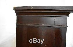 Antique Arts and Crafts side cabinet cupboard