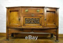Antique Arts and Crafts sideboard dresser side cabinet