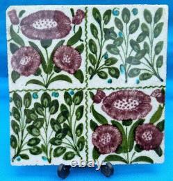 Antique Early William de Morgan Arts and Crafts Tile