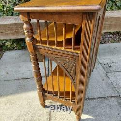 Antique Hall Console Table Sloping Top Aesthetic Movement Arts and Crafts
