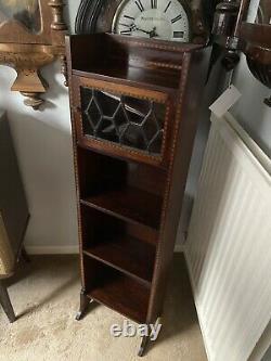 Antique Mahogany Arts and Crafts Bookcase