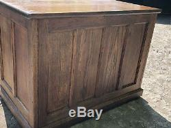 Antique Oak Arts and Craft Desk
