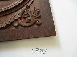 Antique Wood Carving Art Deco Arts And Crafts Architectural Nouveau Sculpture