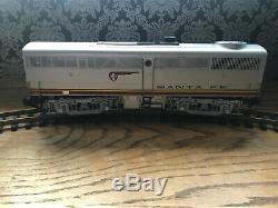 Aristo Craft Model Train Locomotives Santa Fe FA-1 AND FB-1 G Guage ART-22310