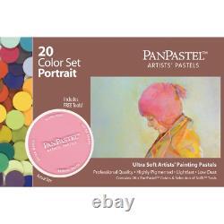 Armadillo Art and Craft Panpastel Ultra Soft Artist Pastel Portrait Set