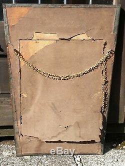 Arts And Crafts Archibald Knox Antique Copper Wall Mirror