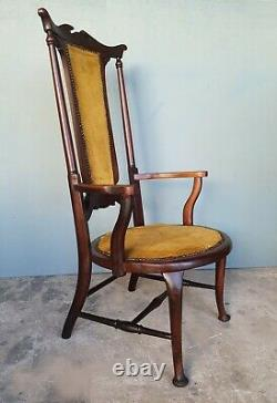 Arts And Crafts Armchair In The Manner Of E W Godwin