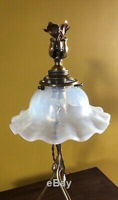 Arts And Crafts/ Art Nouveau Lamp / Light / Lampe 1