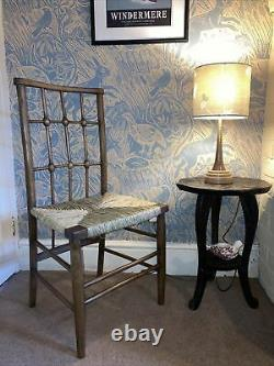 Arts And Crafts Chair Leonard Wyburd For Liberty 1890s