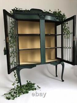Arts And Crafts Mahogany Display Cabinet