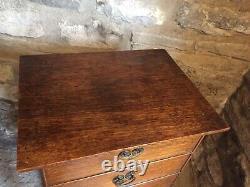 Arts And Crafts Oak Pot Cupboard