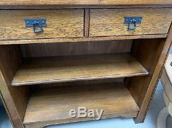 Arts And Crafts Sherry Oak Furniture Job Lot 4 Pieces