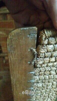 Arts And Crafts Thatched Back Child's Orkney Chair Originally Made For Liberty