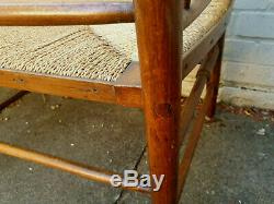 Arts And Crafts William Morris Style Double Seat Sussex Chair Bench