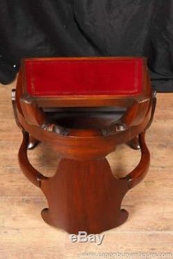 Arts and Craft Mahogany Metamorphic Chair Library Steps