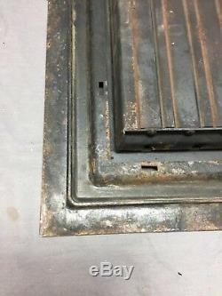 Arts and Crafts Cast Iron Heat Grate Floor Vent Register Surround 10x14 259-18C