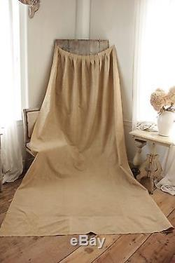 Arts & and Crafts French silk fabric c 1900 gold tones Curtain