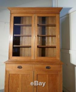 Arts and Crafts Golden Oak Bookcase by Heals