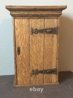 Arts and Crafts Hanging Wall Cupboard