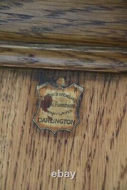 Arts and Crafts Large Oak School Cupboard (100989)
