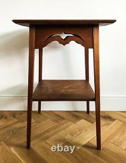 Arts and Crafts Liberty-style Oak Jardiniere / Plant Stand / Table