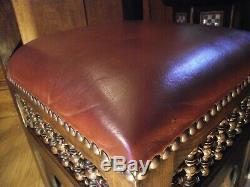 Arts and Crafts Moorish Chair Circa 1900 Manner of Liberty Mashrabiya Chair