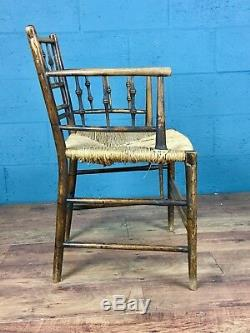Arts and Crafts Morris & Co Sussex Chair, William Morris (100708)