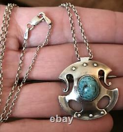 Arts and Crafts Murrle Bennett 950 Silver Celtic Pendant/Brooch Archibald Knox