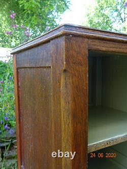 Arts and Crafts Oak Bedside Cabinet