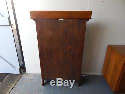 Arts and Crafts Oak Bureau/Bookcase c1920s. Vintage Original. Very Good Condition