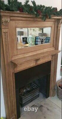 Arts and Crafts Oak Fire Surround Beautiful, Period Piece