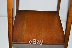 Arts and Crafts Oak Occasional Side Table FREE Shipping PL3294