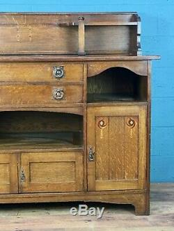 Arts and Crafts Oak Sideboard (100784)