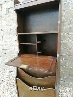 Arts and Crafts Oak Stationary stand / Magazine rack