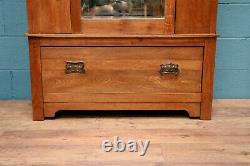 Arts and Crafts Oak Wardrobe, Liberty style 1008760