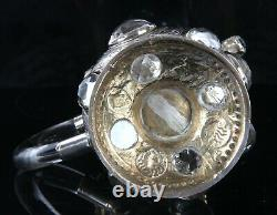 Arts and Crafts Revivalist Silver Rock Crystal Jug 1925 William Burges Interest